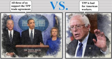 "The triple ""moderate"" threat vs the REAL progressive: Bernie Sanders"