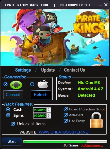 Pirate Kings Hack Cheats