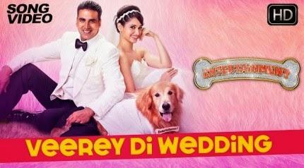 Veerey Di Wedding - It's Entertainment (2014) HD Music Video Watch Online