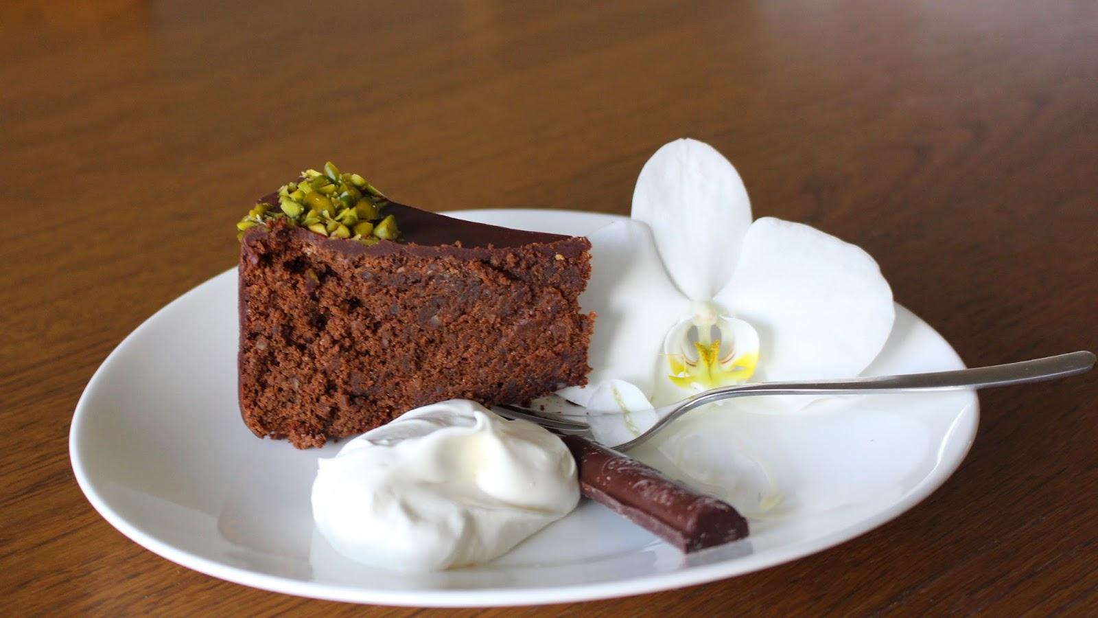 Schokoladenkuchen saftig und ohne Mehl