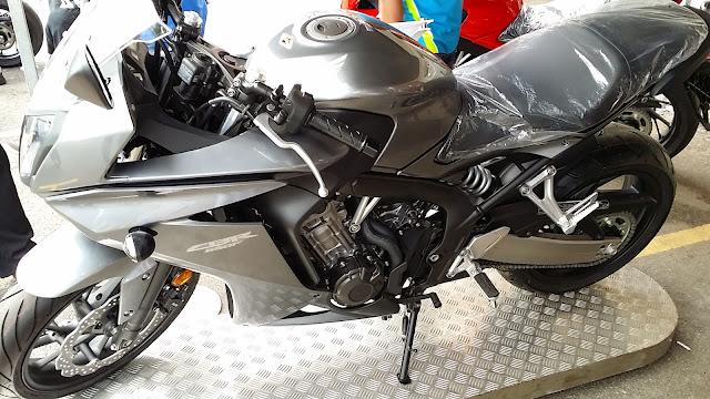 Honda CBR650F CB650F 2014 Malaysia test ride