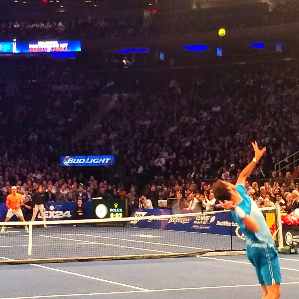 Grigor Dimitrov Madison Square Garden Dimitrov Vs Federer Photos