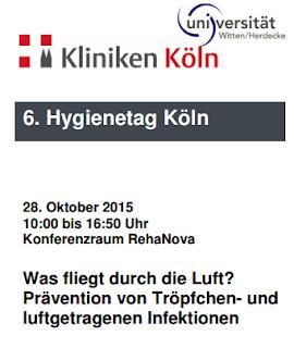 Der 6. Hygienetag in Köln