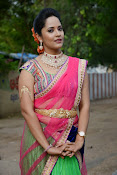 Anasuya photos in half saree-thumbnail-5