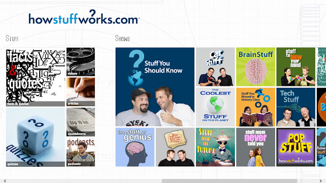 HowStuffWorks app for windows 8
