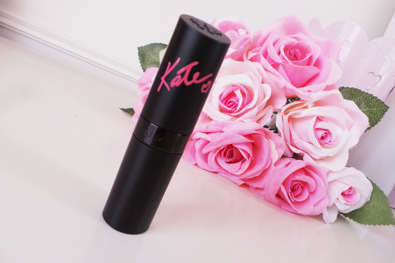 rimmel kate moss lipstick shade 16 review swatches, uk beauty blog - lauras all made up