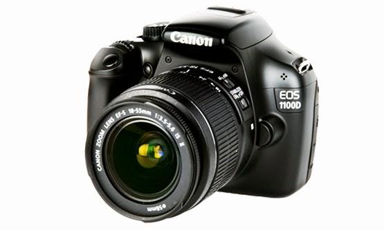 Harga Kamera Canon dan Spesifikasi EOS 1100D Terbaru Murah 2015