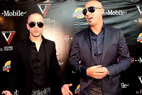 Wisin y Yandel Filmando 'Duelo'