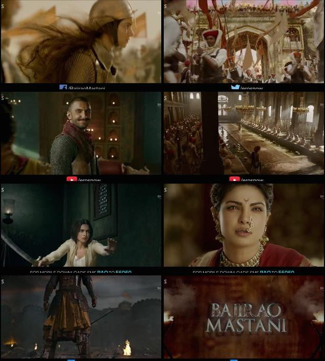 Bajirao Mastani Official Trailer 720p HD Download