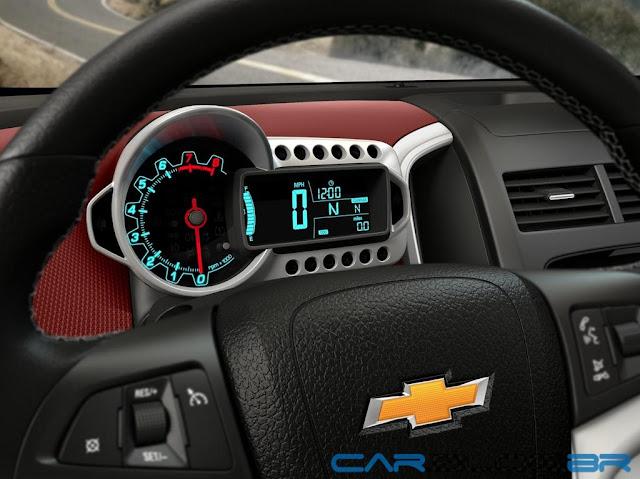 Chevrolet Sonic 2013 - interior - painel