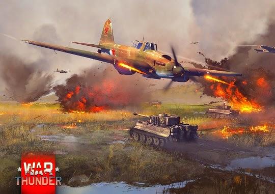 ремонт самолета в бою в war thunder в бою