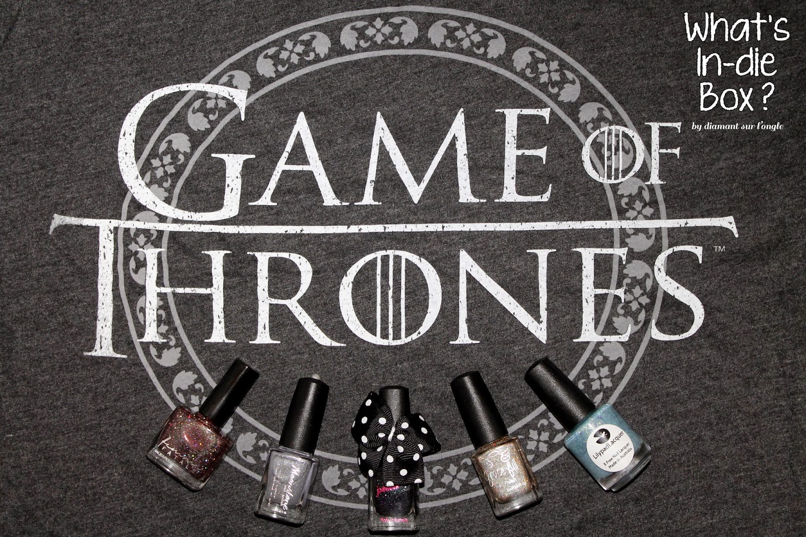 What's In-die Box of April 2015 : Game Of Thrones
