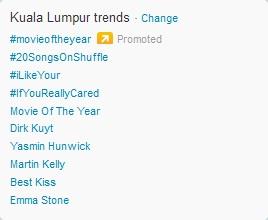 Yasmin Hunwick Trending Dalam Twitter (Al-Fatihah)