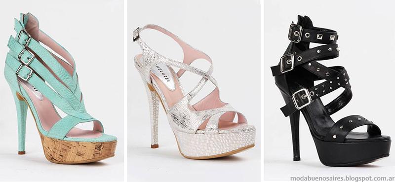 Zapatos y sandalias Micheluzzi colección primavera verano 2015. Moda primavera verano 2015 zapatos.