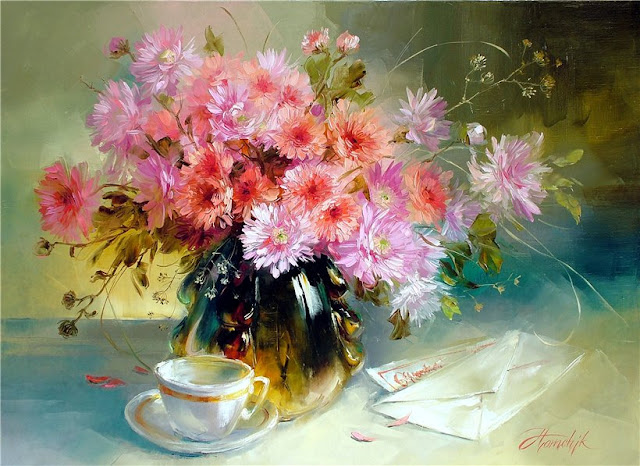 Анна Хомчик 1976 | Ukrainian Still life painter | The sweet moments