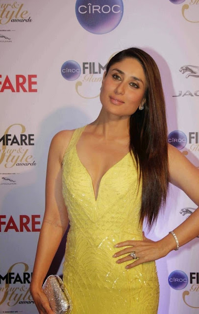 Kareena Kapoor Stills At Ciroc Filmfare Glamour Style Awards 2015