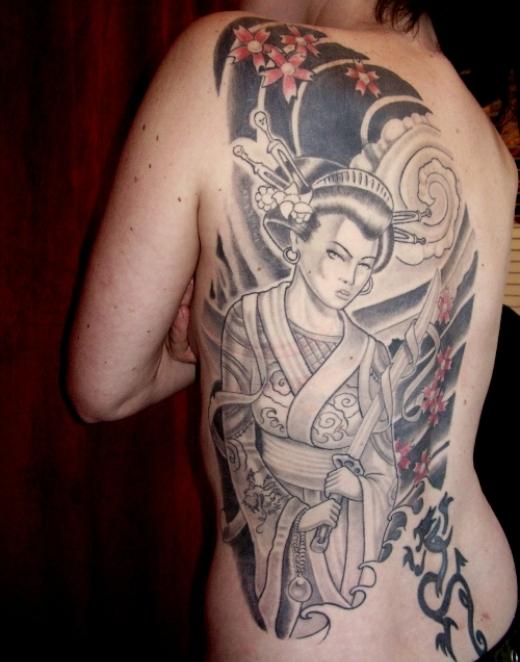 Tattoo Gueixa - Tatuagem feminina e sensual