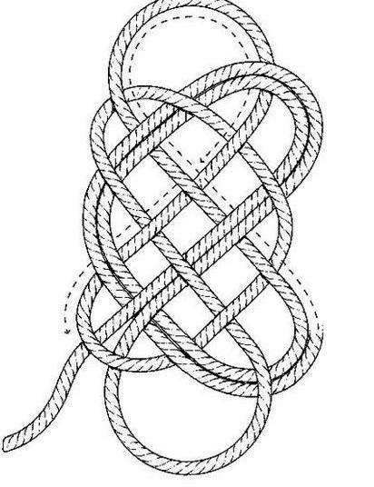 Коврики из веревки своими руками и схемы