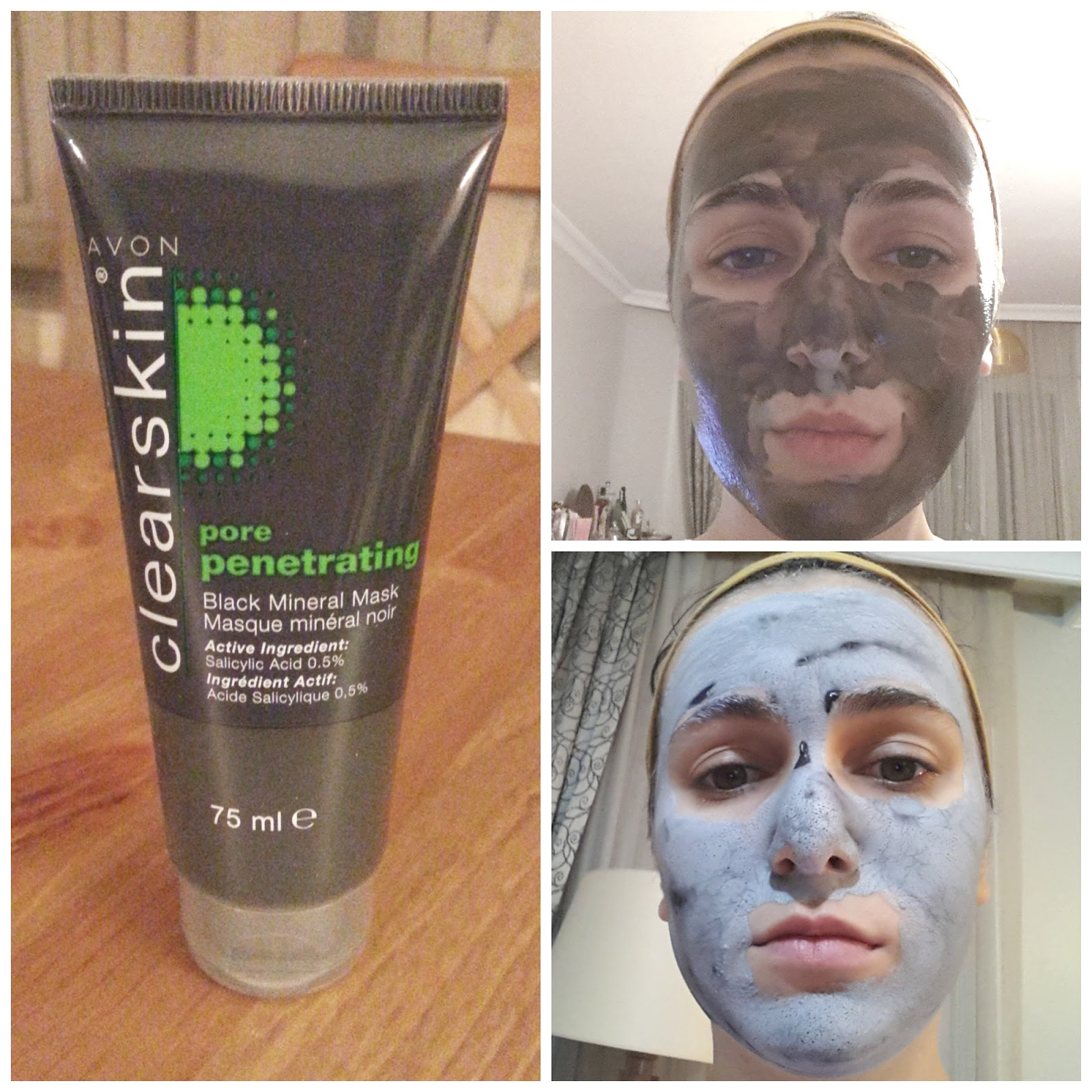 Avon Pore Penetrating Black Mineral Mask