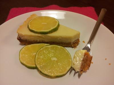 Limetkový koláč