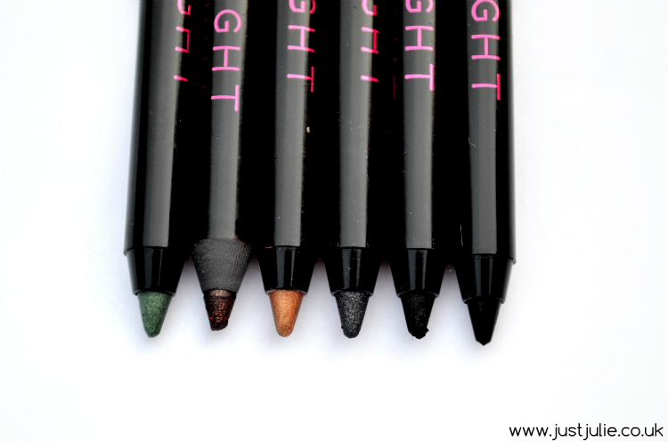 Makeup Revolution I ♡ Makeup All Day and Night Eyeliners review
