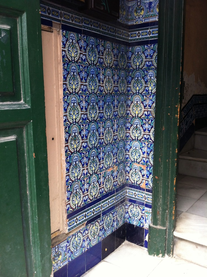 Brooklynguy's Wine and Food Blog: Tiled Entryways in Jerez