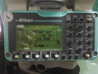 Tutorial Stake Out Menggunakan TS Nikon DTM-322
