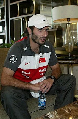 Altintop interview at the Turkish national team training stage