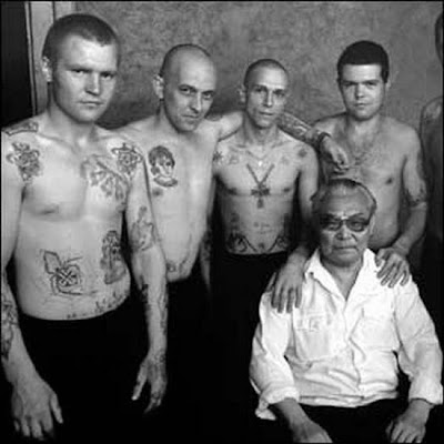 Russian mafia crime bosses tattoos