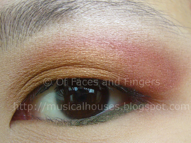 Sunset Orange Red Eye Look