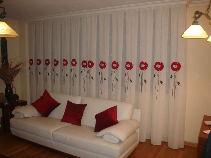 Espacio style qu son las cortinas for Cortinas baratas para salon