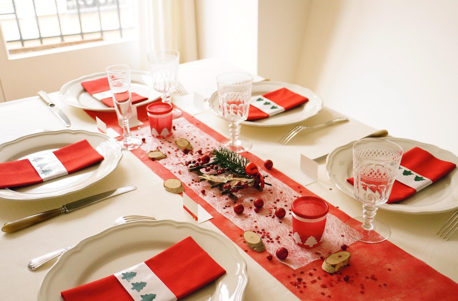 Ma boutique d co table d coration de table joyeux no l - Deco de table de noel ...