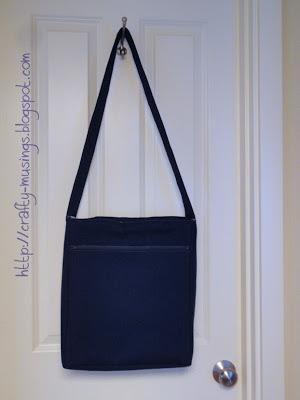 Amy Butler High Street Messenger Bag, back view