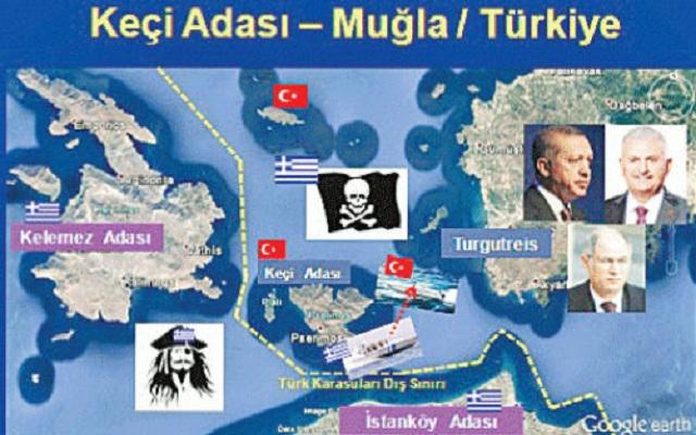 Δημοσίευμα ΣΟΚ! «Πέντε νησιά κοντά στην Κρήτη είναι τουρκικά…»