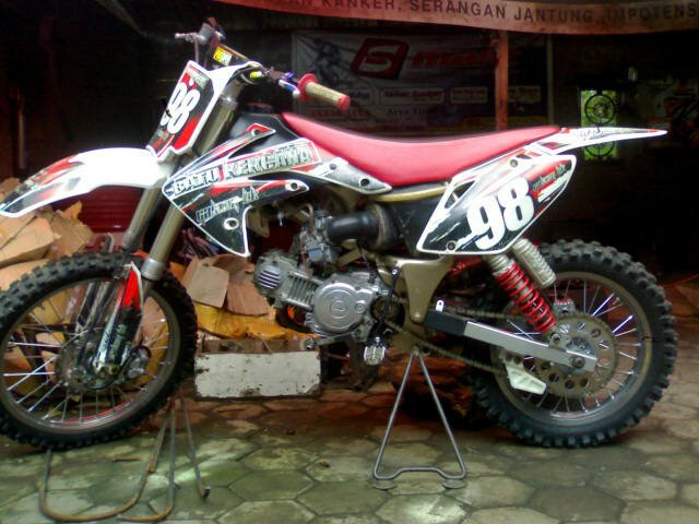 Gambar Modifikasi Yamaha F1zr Trail