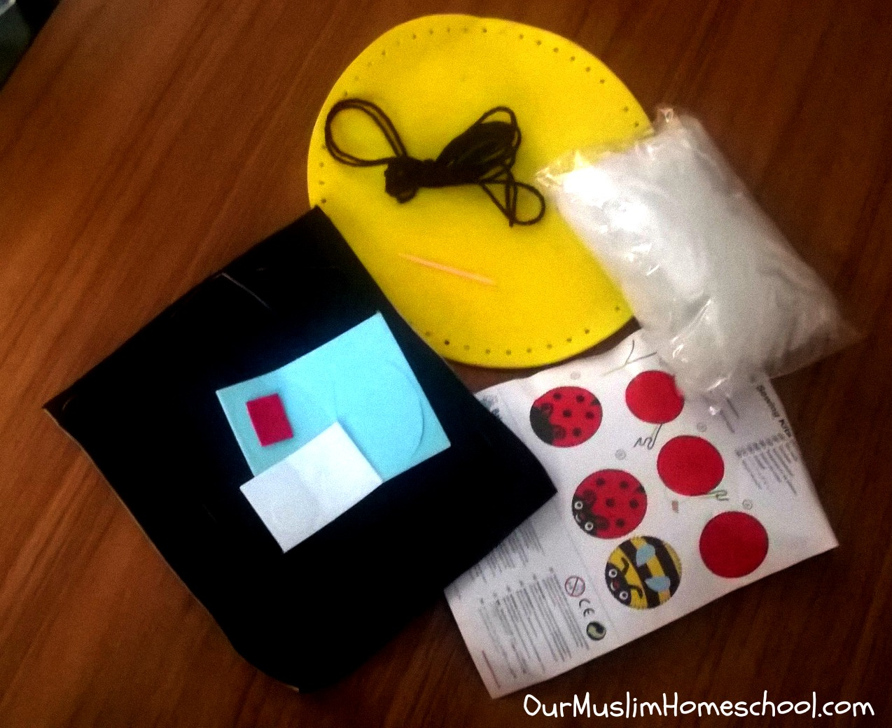 Our muslim homeschool sewing for 5 year olds for Jewelry making kit for 4 year old