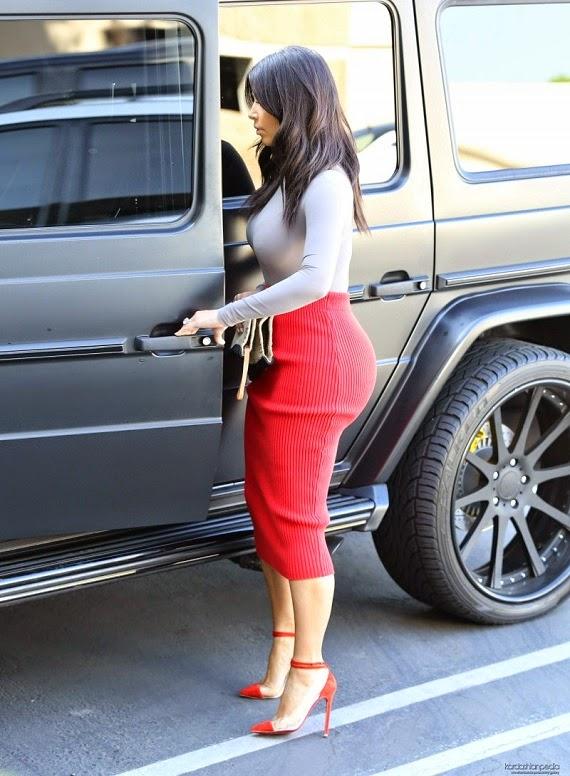 Kim Kardashian Street Style Collection Fashion
