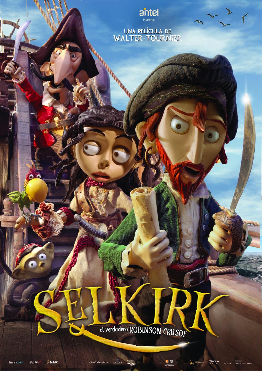 Selkirk, o Verdadeiro Robinson Crusoe – Dublado (2012)