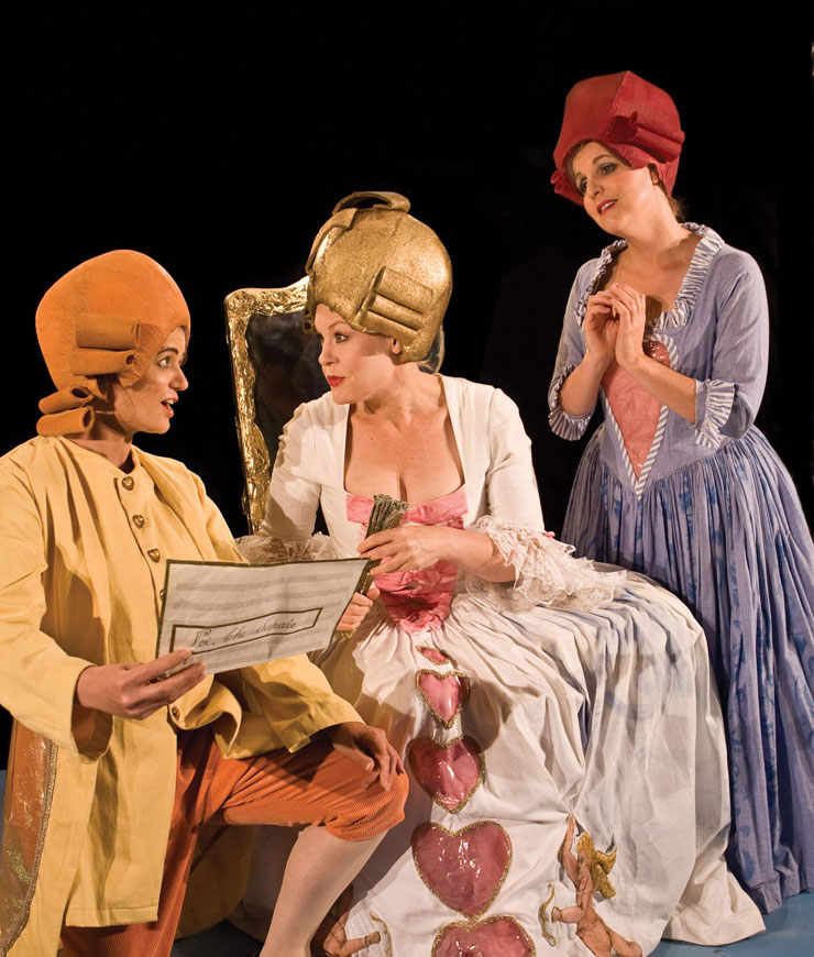 a review of the 1784 performance the marriage of figaro Music | opera review season opens, and the intrigue is at last onstage metropolitan opera opens with 'le nozze di figaro.