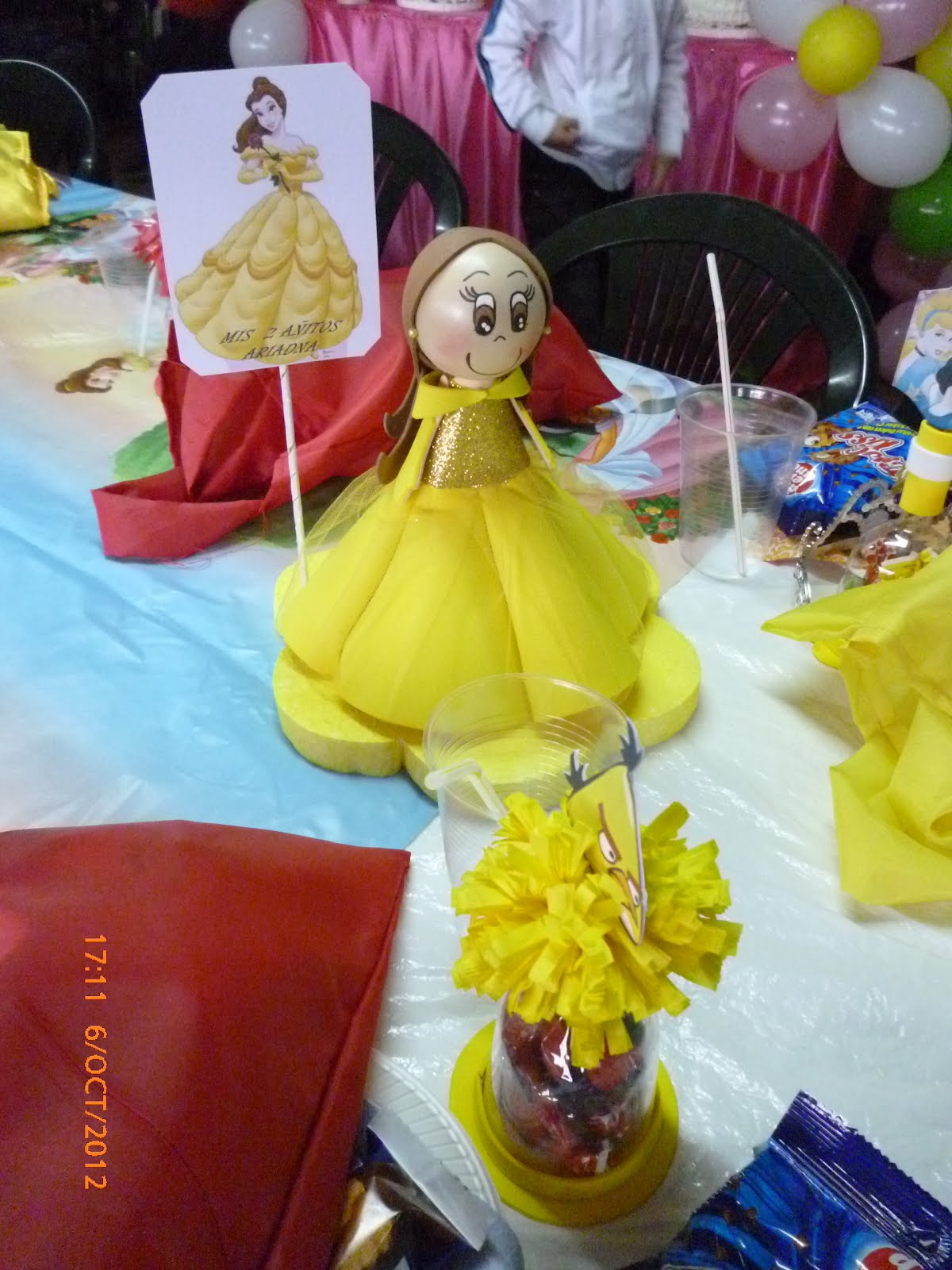 Decoraciones y cotillon de cumplea os fiesta de princesas for Decoracion cumpleanos princesas