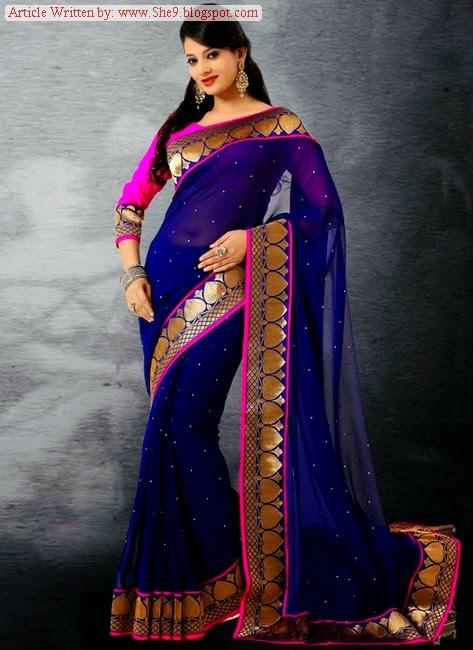 South Indian Bridal Saree Dress Designs