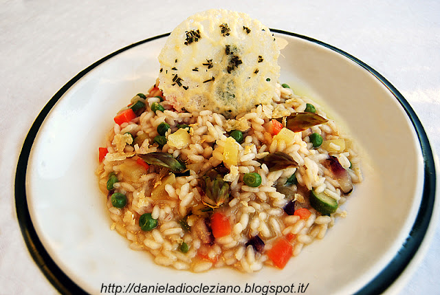 Risotto Alla Primavera Recipes — Dishmaps