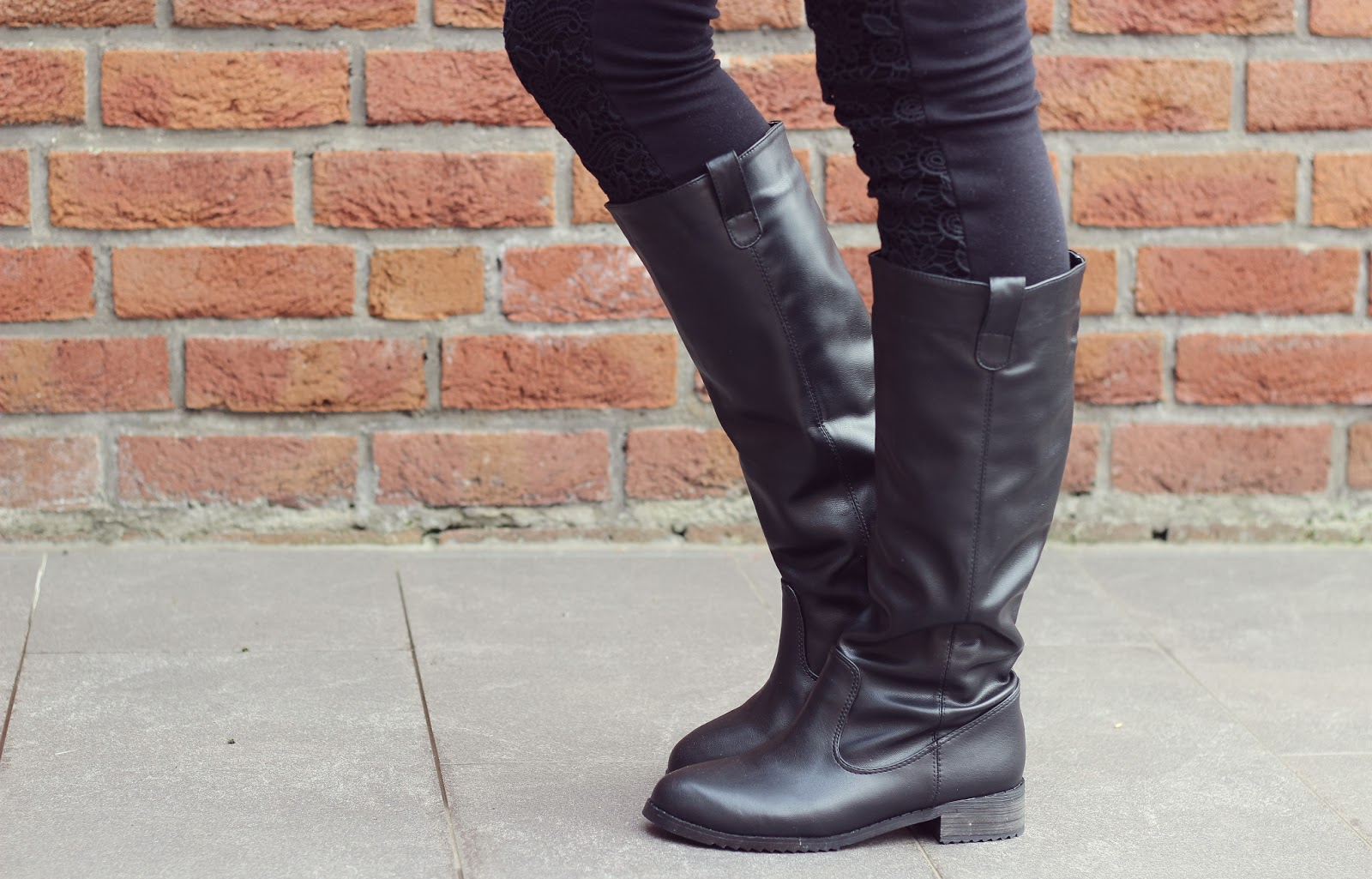 Oasap Easy Riding Boots