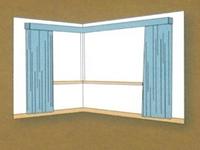 Tipe jendela sudut