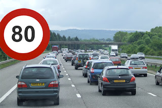 80 mph speed limit on motorways