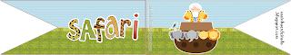 Kit Festa Safari Arca de Noé Para Imprimir Grátis