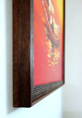 DIY Plywood painting frame