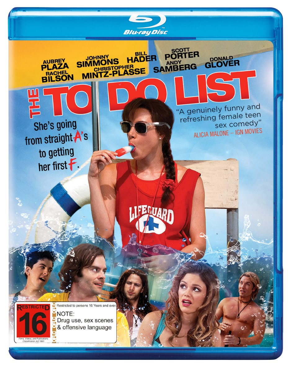 at darren's world of entertainment: the to do list: blu ray review