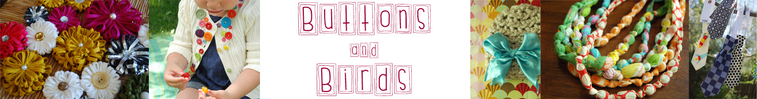 Buttons & Birds