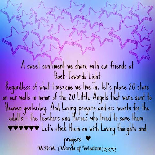 a sweet sentiment we share our friend at back towards light